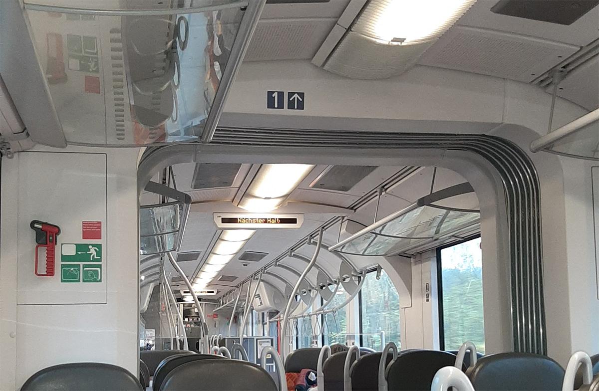 Bahnfahren in Corona-Zeiten